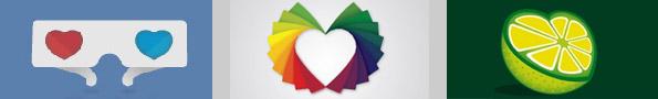 25 примеров логотипов в форме сердца