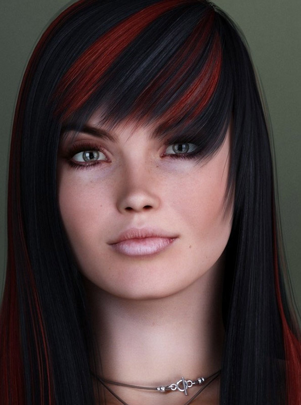 Самые реалистичные лица девушек, нарисованных в 3D